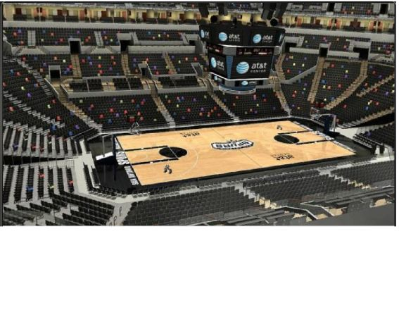 2 cheap tickets for Spurs vs Sacramento Kings tomorrow night - $39 (Section 210 Row 3 Seats 3 and 4)