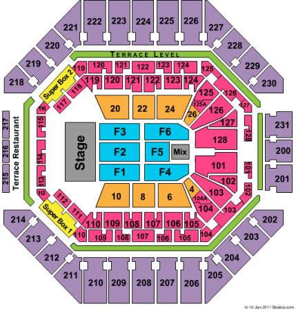 Trans-Siberian Orchestra 2 Tickets F2(floor) Section - $250 (ATT Center)