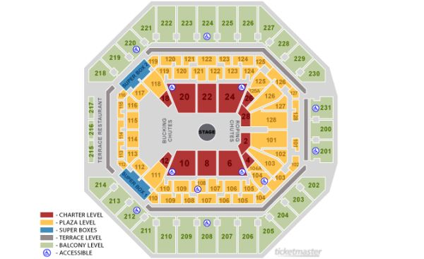 7 tickets Toby Keith Sa Rodeo - $100 (Bandera Rd)