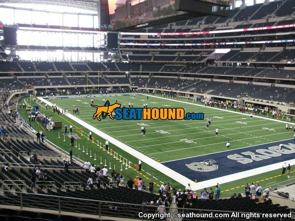 Dallas Cowboys vs. Green Bay Packers AMAZING SEATS Cowboys Side - $600 (Lower Level Section 201)