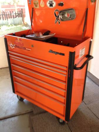 Snap on tool box with tools - $2200 (Austin)