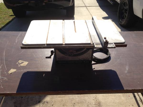 Craftsman 12 Table Saw Espotted