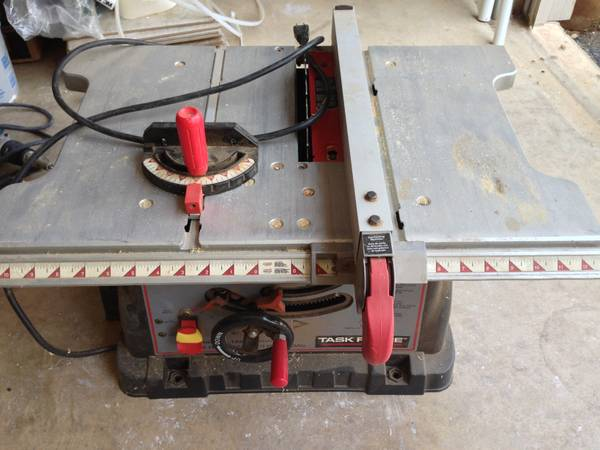 Task Force Table Saw - $50 (Stone Oak Area)