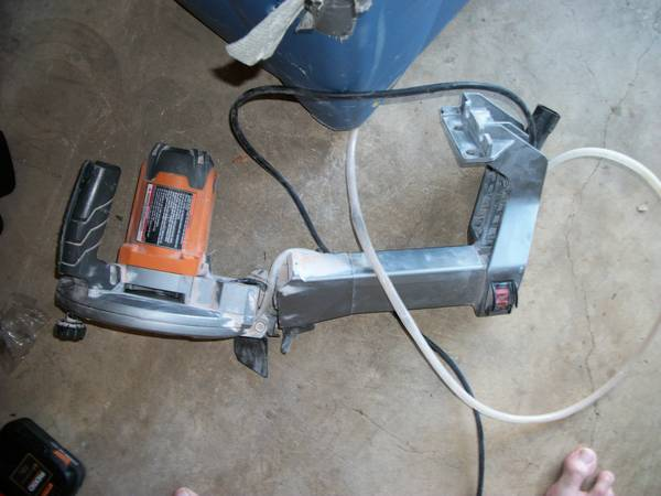 RIDGID Wet Tile Saw FOR PARTS ONLY