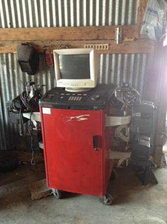 Hunter wheel alignment machine - $5500 (Culebra Loop 1604)