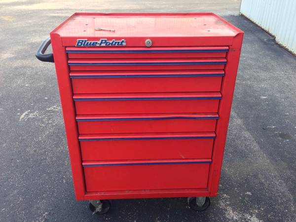 Snap On Tool Chest With Tools Espotted