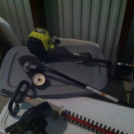 Ryobi Expand-It 4 Cycle Gas Weed Eater X430 With All Attachments - $140 (Loop 410 I-10 NW San Antonio)