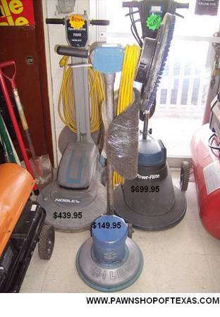 FLOOR BUFFER - $150 (EASTSIDE)