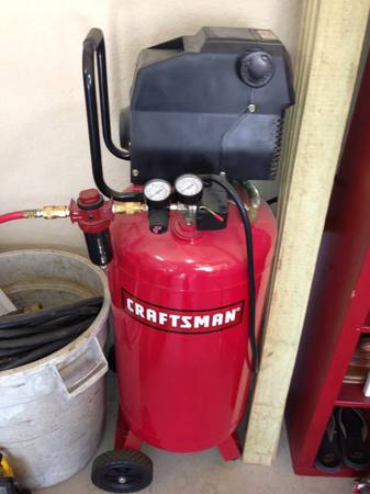 26 gallon Craftsman Air Compressor - $140 (SA)