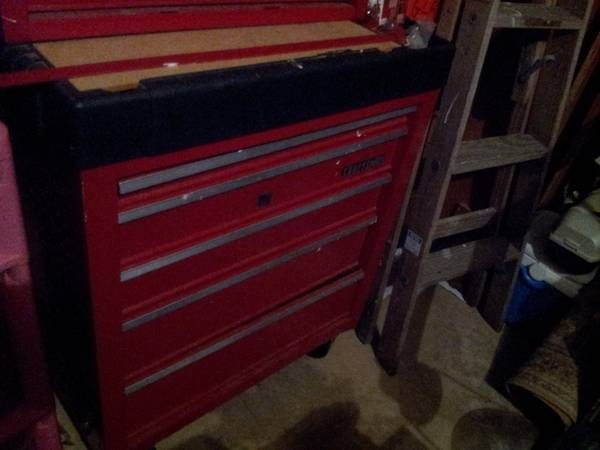 craftsman 5 drawer rolling tool chest - $225
