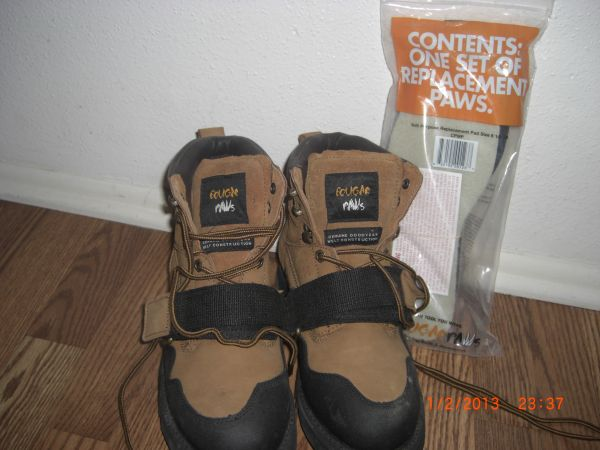 Cougar Paws roofing boots - $115 (NE)