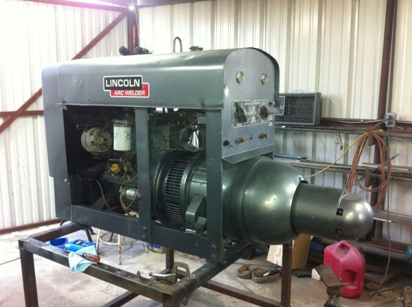 1947 Lincoln SA-200 Shorthood Welder - $5500 (Poteet)