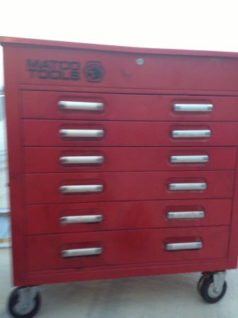 Matco roll away tool box - $800 (Cibolo)