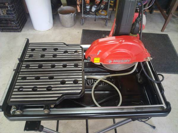 Husky Wet Saw Espotted
