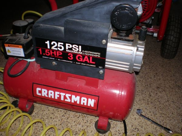 Air Compressor - $100 (Spring Branch)