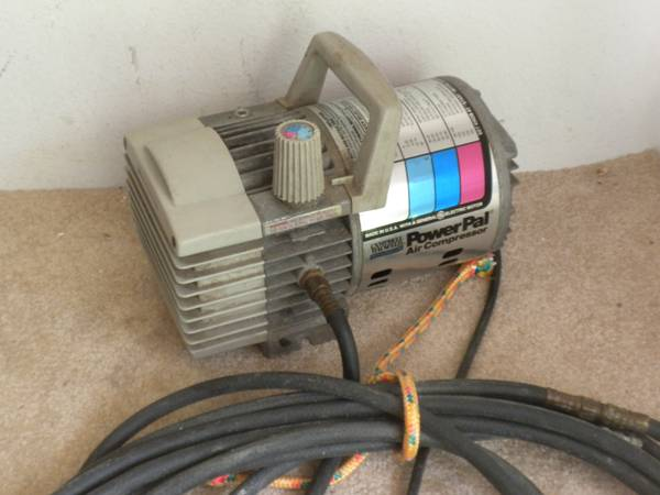 Cbell Hausfeld Power Pal 34 HP Air Compressor WORKS GREAT - $35 (Center Point)