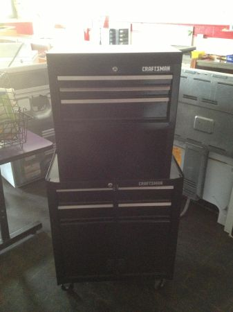 Craftsman top and bottom took chest plus tools Snap-on, craftsman etc - $200 (West ave)