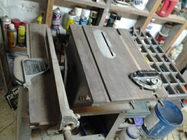 Rockwell Saw-Jointer Combination - $250 (Blanco, Tx)