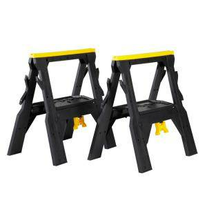 WORKFORCE FOLDING SAWHORSE STANDS - $20 (FRESNO  )