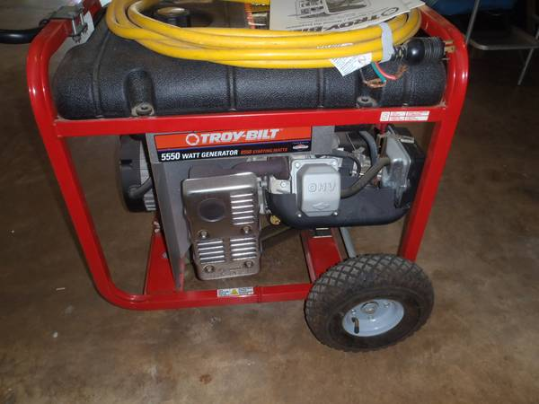 Troy Bilt generator 5550 - $475 (North central San Antonio)
