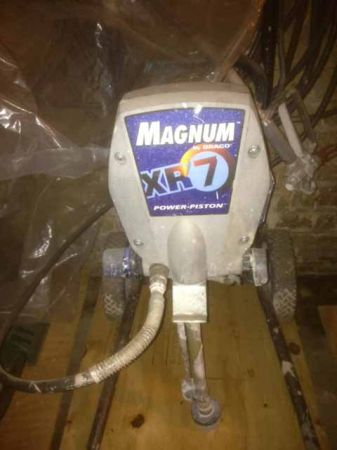 Airless paint sprayer Graco Magnum XR7 - $350 (SA near downtown)