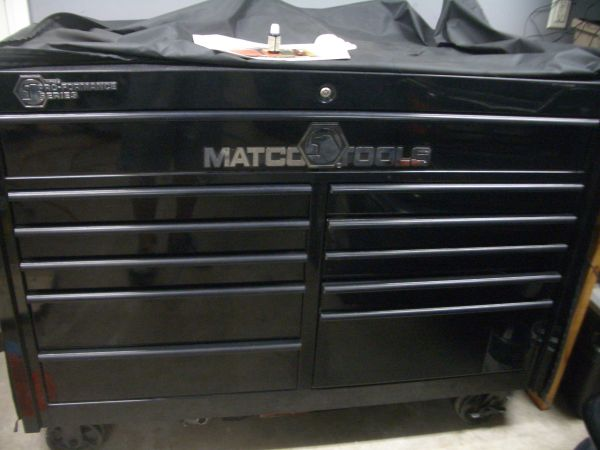 MATCO TOOLBOX with cover (San Antonio)