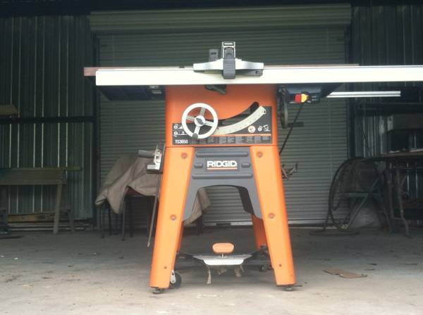 10 Ridgid Table saw for sale 475 OBO - $475 (Northside)
