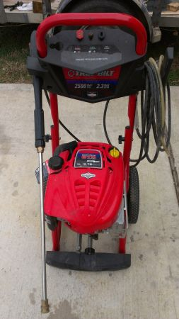 Troy Bilt Pressure Washer 2500psi - $200 (160490 west)