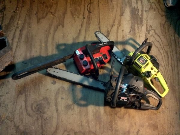 3 Chainsaws for sale - $70 (Helotes)