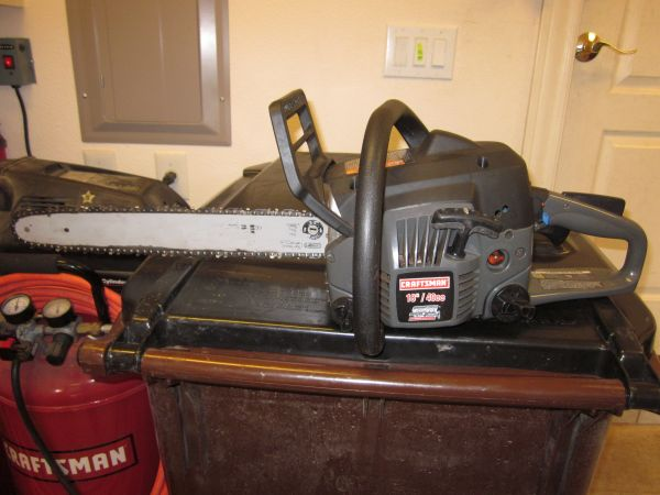 Old Craftsman Chainsaw Parts : Craftsman chainsaw model espotted