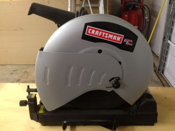 Craftsman 14 Abrasive Chop Saw with Laser Trac - $150 (NE SA)