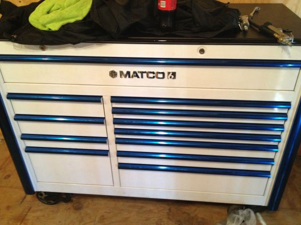 Matco 6s douple bay toolbox - $2700 (South San antonio)