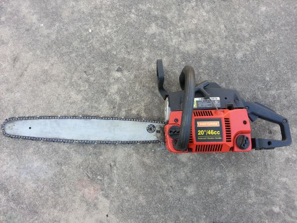 Craftsman 20 46cc Chainsaw Model 358. 350202(PARTS ONLY) - $40 (San Antonio)