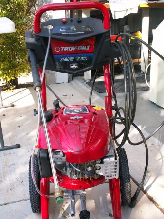 Troy-Bilt Gas Pressure Washer - $170 (San Atonio)