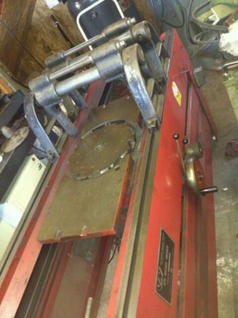 Van Norman 570 Resurfacing Heads Machine (Austin)