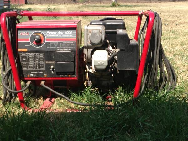 WelderGenerator Lincoln Power Arc 4000 - $1000 (near Castroville)