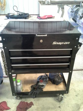 snap on roll cart - $500 (converse tx)