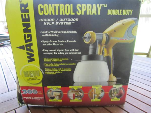 Paint Sprayer - Interior Exterior - $45 (Airport Area)