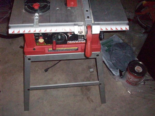 Tradesman miter saw espotted for 10 tradesman table saw