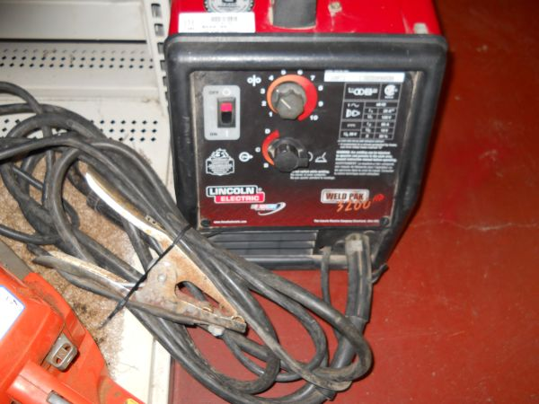 Lincoln electric weld pak 3200 hd - $500 (Boerne,TX)