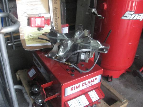 COLTS Tire Changer, SNAPON 80 gallon Air Compressor - $6500