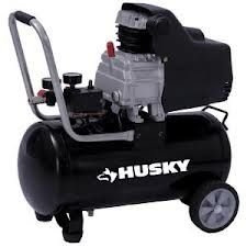 Husky 8-Gal Port Air CompressorUsed OncePerfect ConditionIncl Assec - $125 (2811604)