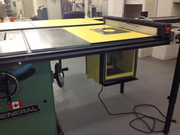 JOINTEC CLINCHER, DIGITAL ROUTER LIFT SAW TRAIN WITH TABLE SAW - $2500 (NW San Antonio)