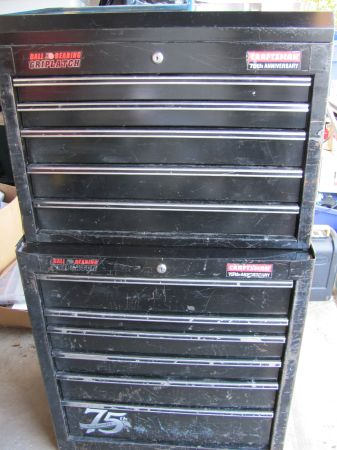 Craftsman 6 Drawer Tool Chest and 6 Drawer Tool Box  - $225 (San Antonio - Hwy 281N and Loop 1604)