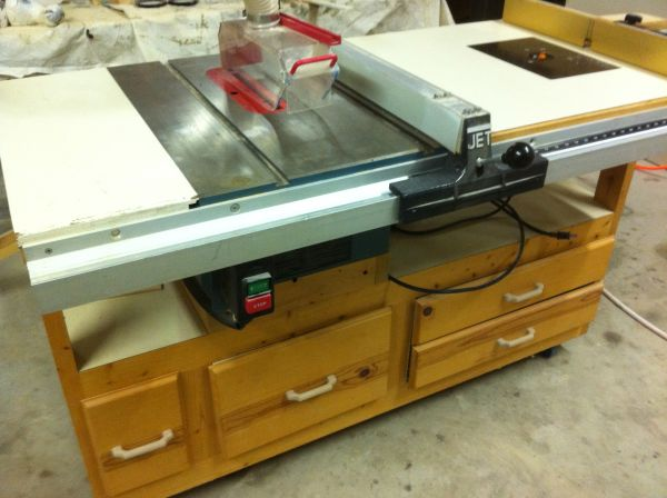 Table Saw router table - $850 (Fredericksburg)