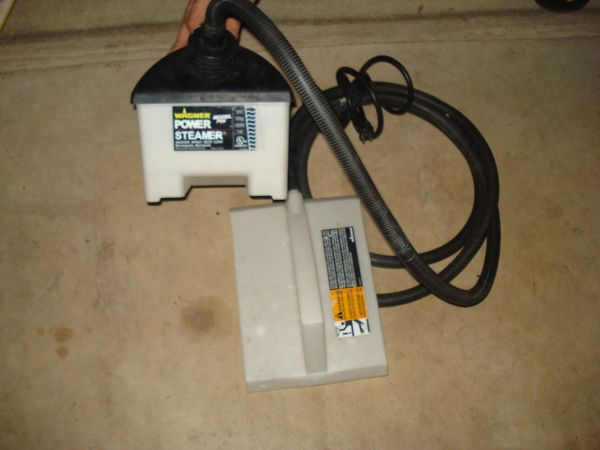 WAGNER 705 0282018 POWER WALLPAPER STEAMER AND REMOVER W SUPPLIES - $60