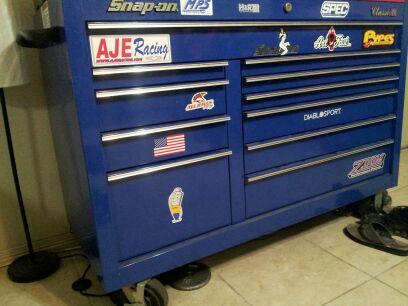 SNAP ON TOOL BOX CLASSIC 78 - $2500 (HARLINGEN)