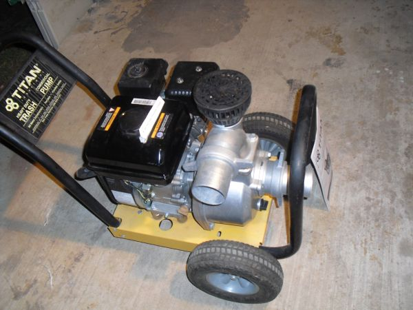 Titan 3x3 Heavy Duty Trash Pump, Model TTP-300 - $300 (MedinaSan Antonio)
