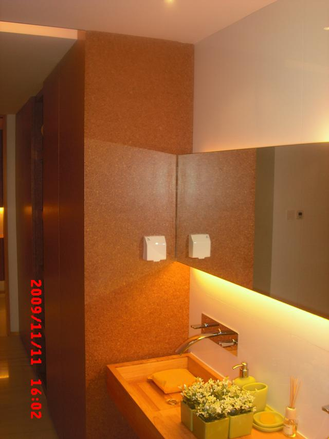 Natural Acoustic Cork Wall Tiles, Ceiling Tiles for Sound Insulation soundproofing