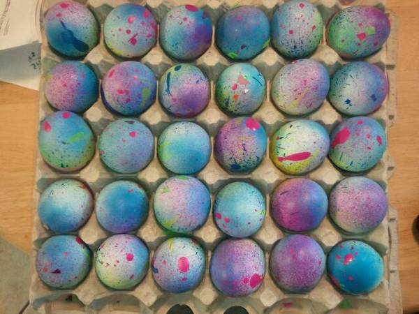 Cascarones Confetti Eggs for sale -cheap - $1 (NW)